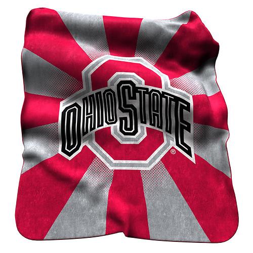 Ohio State Buckeyes NCAA Raschel Blanket