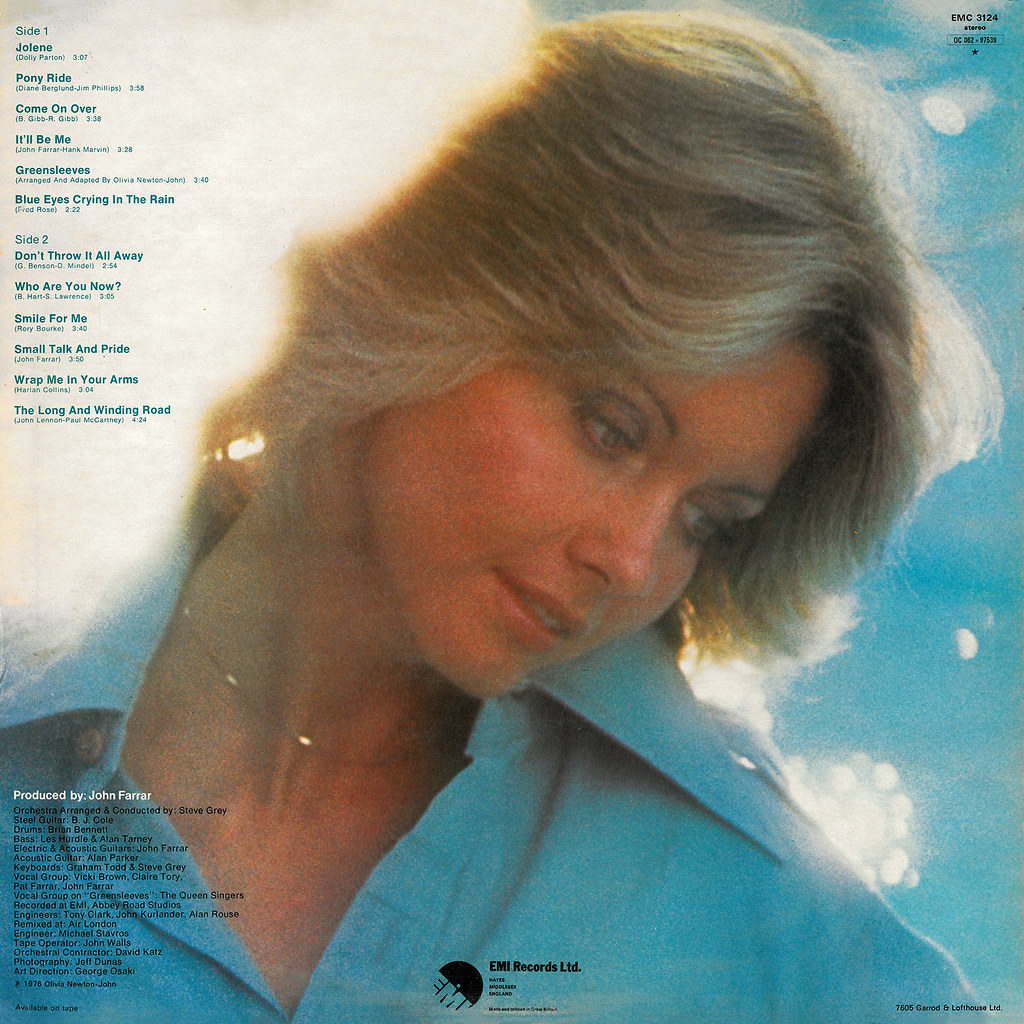 Olivia Newton-John ‎– Come On Over