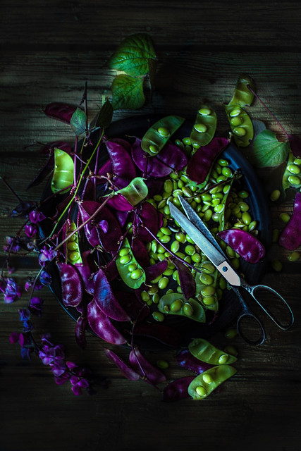 Beans from my garden. শিম :)