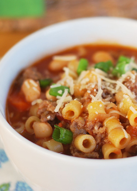 Pasta Fagioli - Olive Garden copycat recipe. The BEST soup recipe! You will make it over and over again!