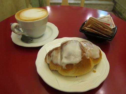 A Cappuccino and Falstaff
