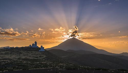 sunset tenerife teide orotava islascanarias fotojoma