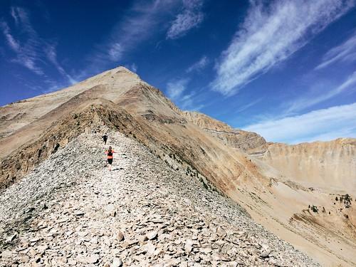 Over Lone Peak