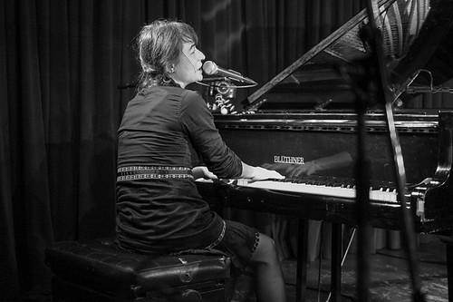 Tonia Reeh + Rudi Fischerlehner 18.10.2014 @ Roter Salon, Volksbühne Berlin
