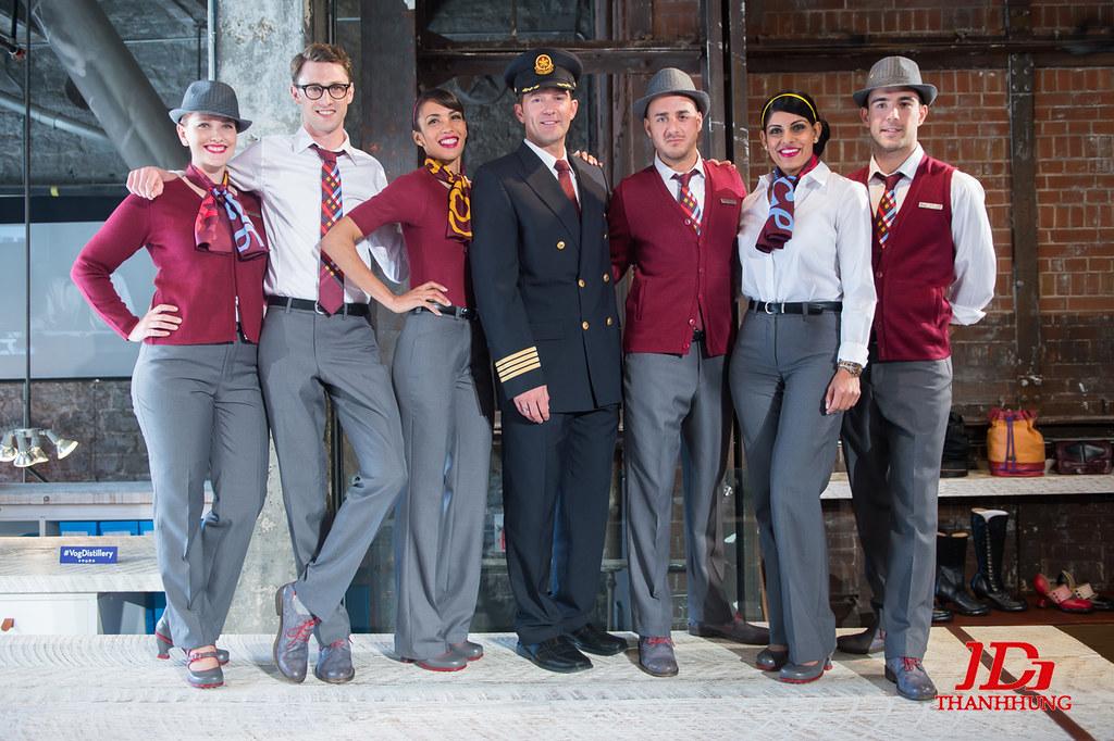 Đồng phục tiếp viên hàng không các nước, hãng ĐẸP nhất 12