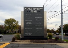 Pylon Monument Sign at Northview Mall