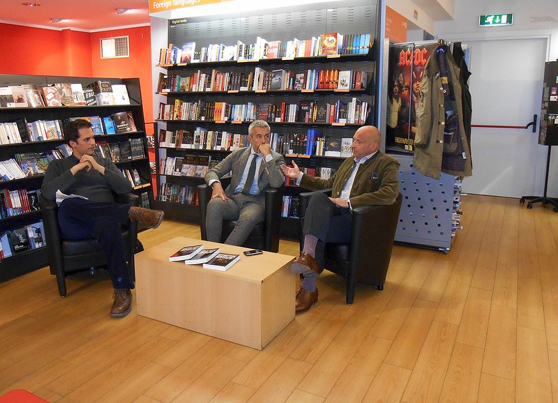 Michele Migliori, Marco Perduca e Marino Busdachin
