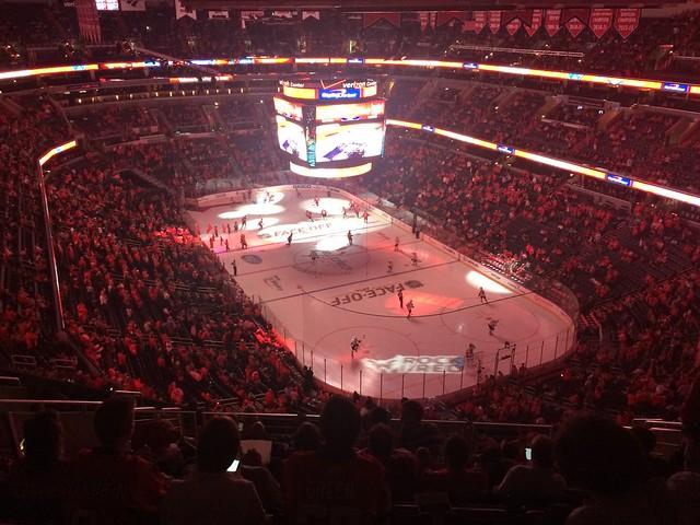 Washington Capitals hockey game