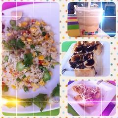 #FotoRus #จันกะผัก #ข้าวผัด #กาแฟ #หนมปัง