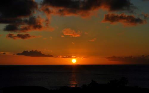 sunset clouds island zonsondergang caribbean bonaire antilles antillen dutchcaribbean blinkagain caribbeannetherlands caribischnederland