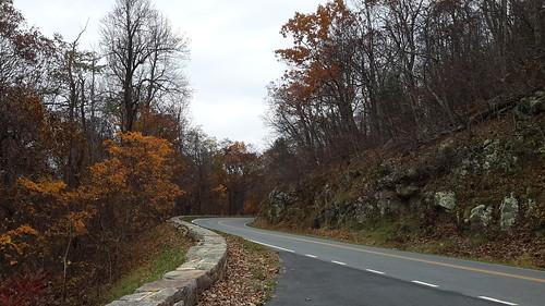 Scenic Skyline Drive in Shenandoah National Park