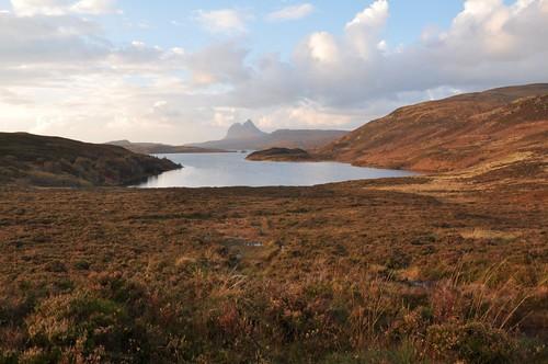 Cam Loch & distant Suilven