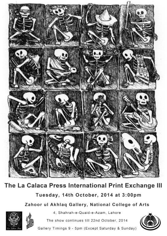 La Calaca Press in Lahore, Pakistan