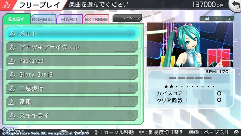 Miku Project Diva F 2 3