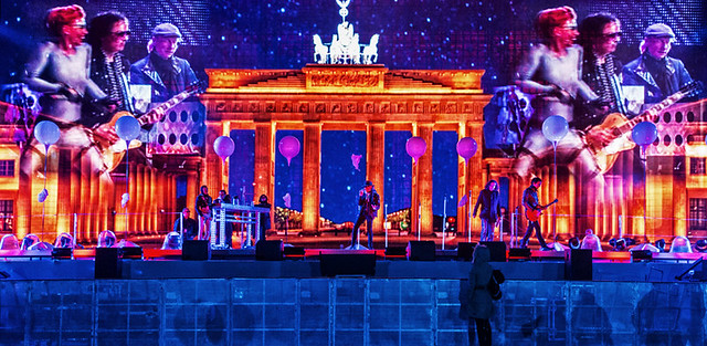 25 Jahre Mauerfall , 9.November 2014 ....... 25 Years Fall of the Wall