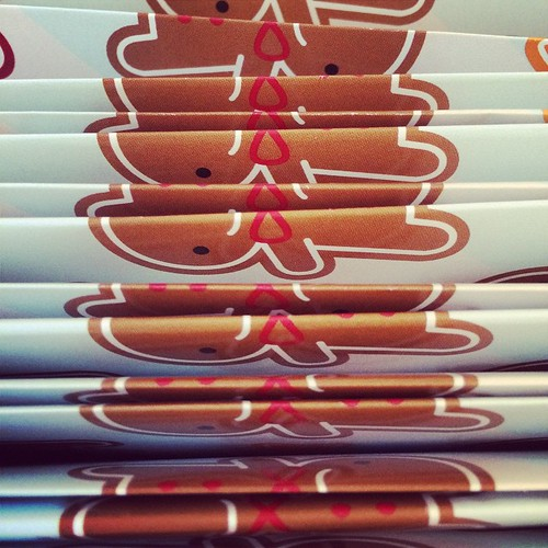 Folding gift wrap