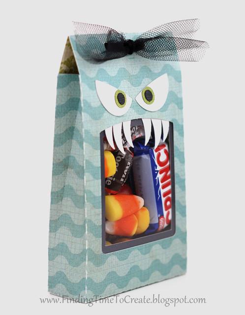 Monster treat bag - side