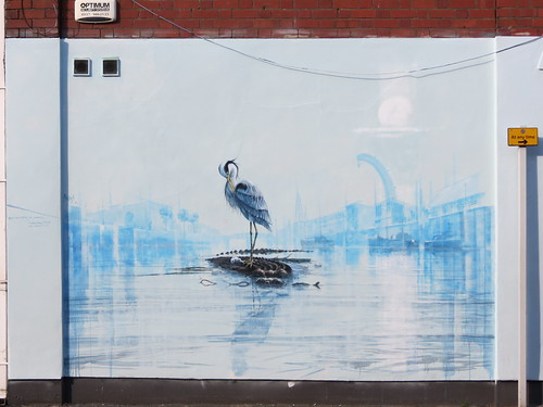 Street art in Bristol by Andrew Burns Colwill