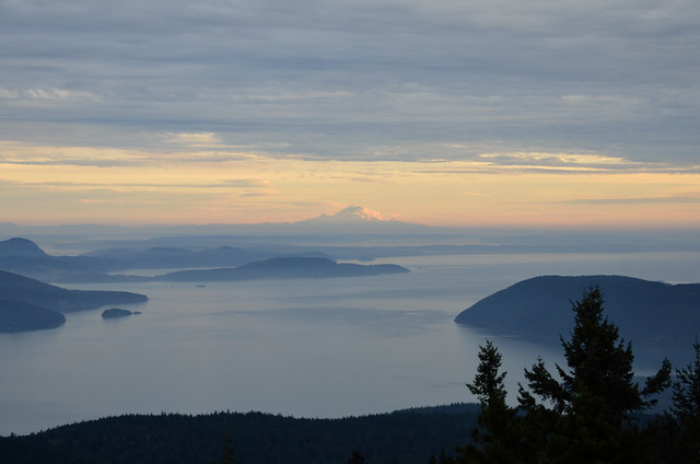 Mt. Rainier from Mt. Constitution