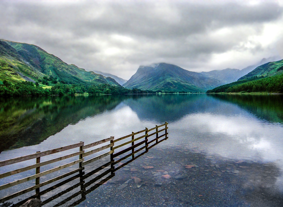 Buttermere and Fleetwith Pike, Lake District. Credit Robert J Heath, flickr