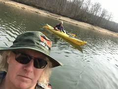 First kayak trip of the spring