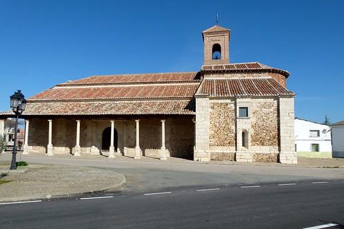 EL CUBILLO DE UCEDA (Campiña del Henares-Guadalajara). 2014. Iglesia de la Asunción (sXII, XIII y XVI). Románico-mudéjar.
