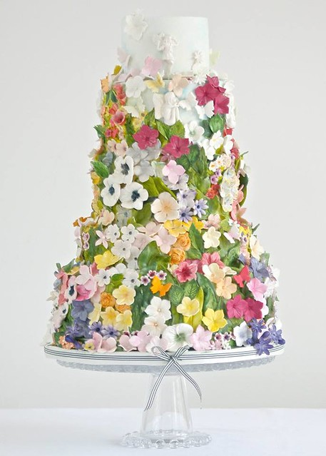Cake by A Wedding Cake Blog
