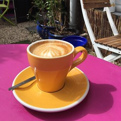Coffee in the sun #bristol #coffee #penfoldskitchen