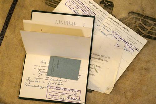 Arbeidsbok fra krigen