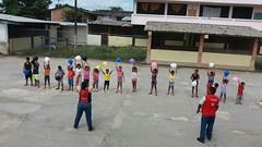 Niños se benefician de estudios dirigidos en dos sectores barriales de Chone