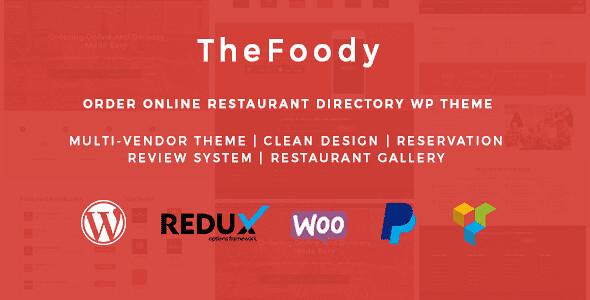 Thefoody WordPress Theme free download