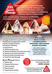 DJS SportsMassage
