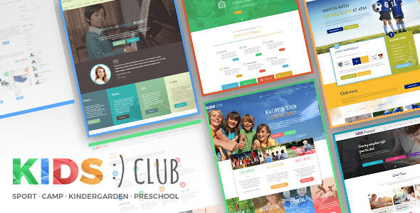 Kids Club WordPress Theme free download