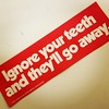 Just a little word of warning from your friendly state dental association circa 1975 #oralhealthhistory