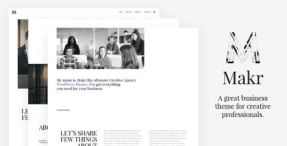 Makr WordPress Theme free download