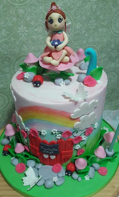 Fairy Cake by Mary Antonnette Enriquez-German of Prime Baker