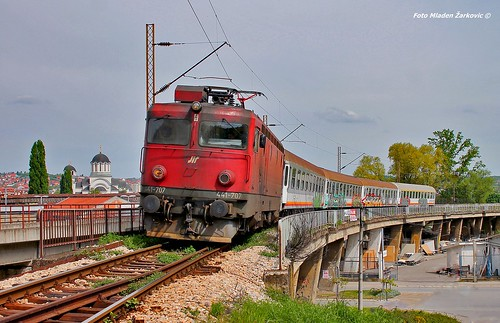 tara ic431 431 trainspotting valjevo bridge trains 441 asea canon train belgrade bar