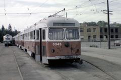 US MA Boston MBTA PCC 3345 Ex-Dallas