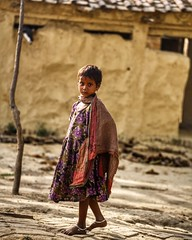 Little wanderer ~ India