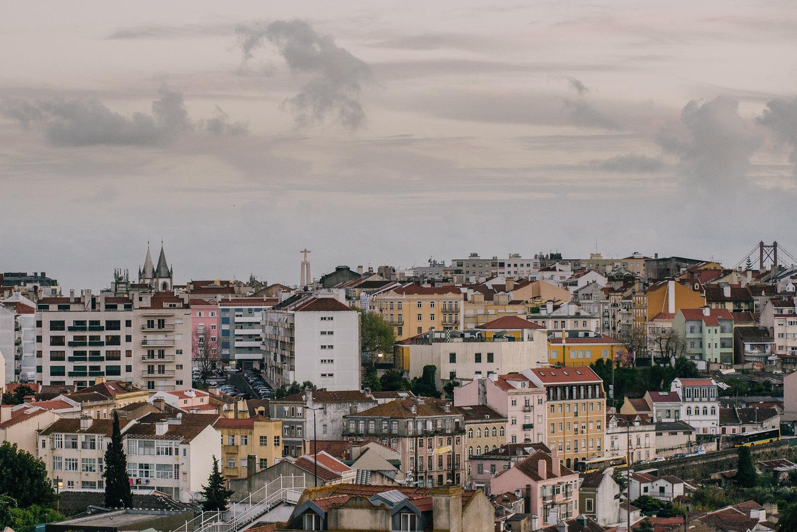 Lisszabon kilátás