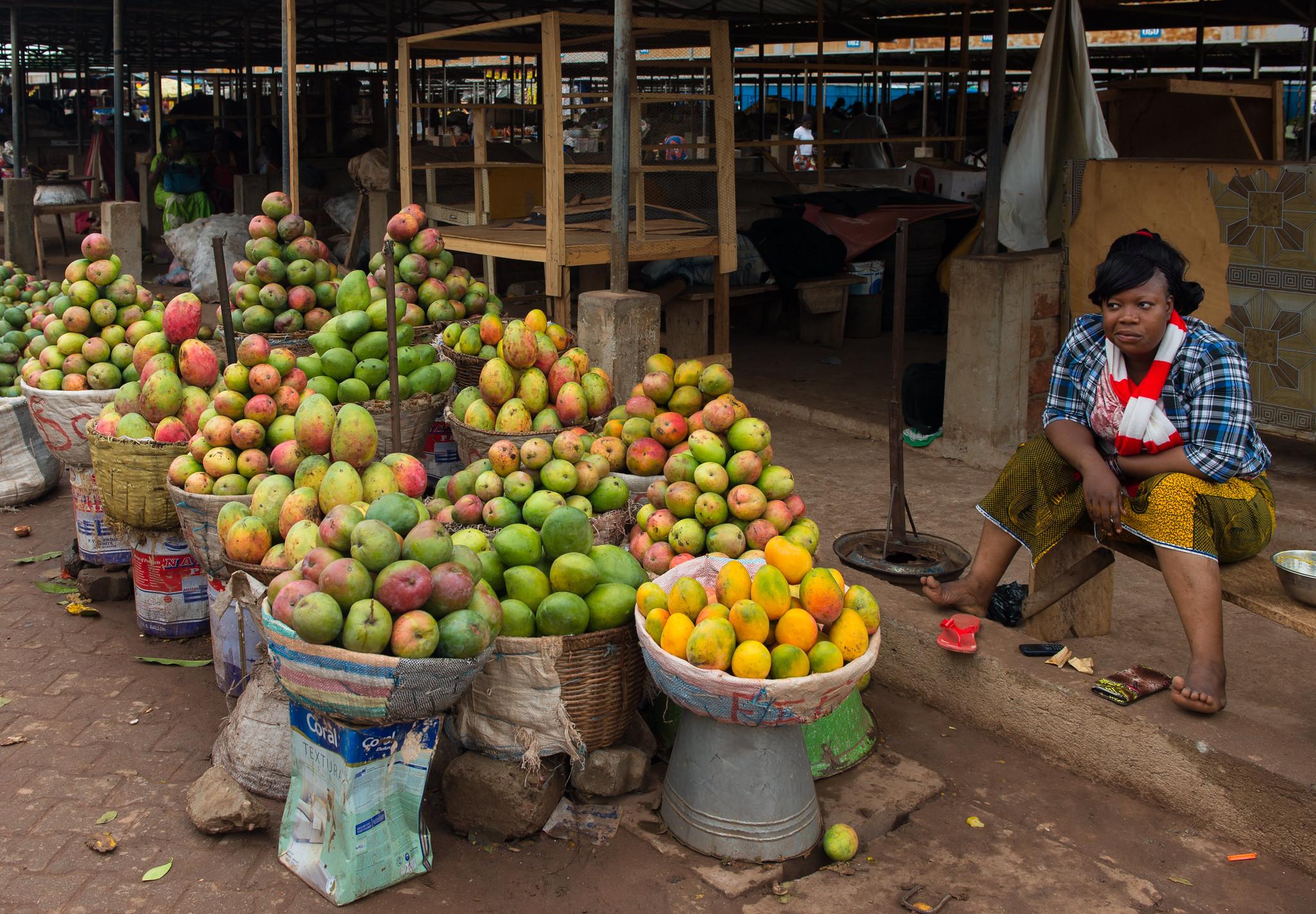 Mango Vendor in Bobo