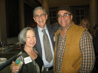Chris Cannon with Rosie & Lowell Saferstein