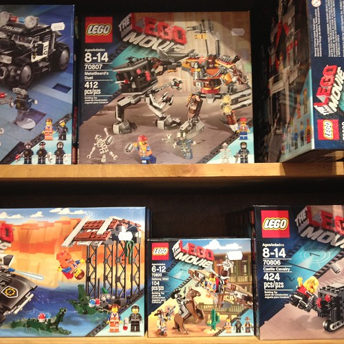 Lego Movie LEGO!  (Find it at Tiggy's!)