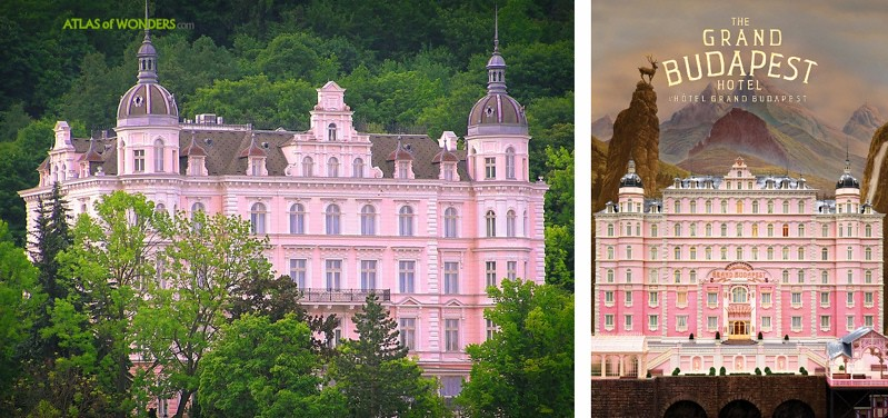 Grand Budapest Hotel film locations