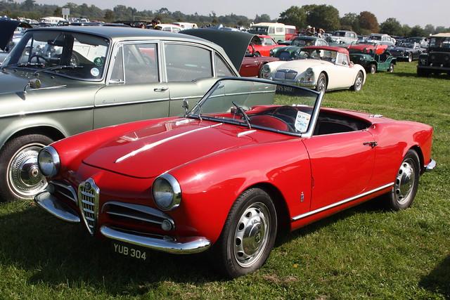 1957 Alfa Romeo Giulietta Convertible
