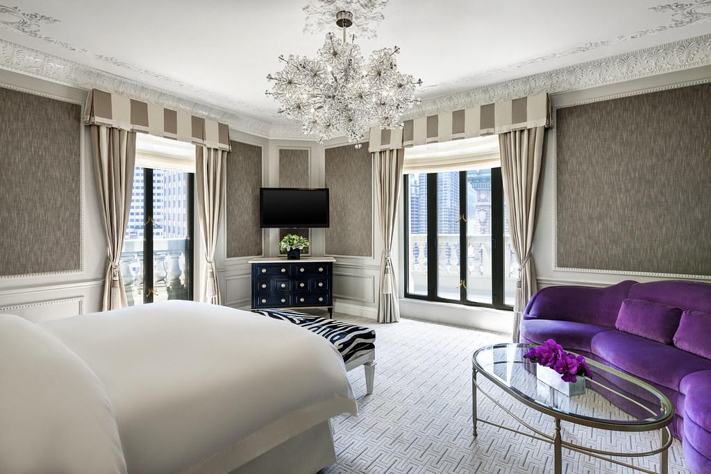 The St. Regis New York—Presidential Suite Master Bedroom