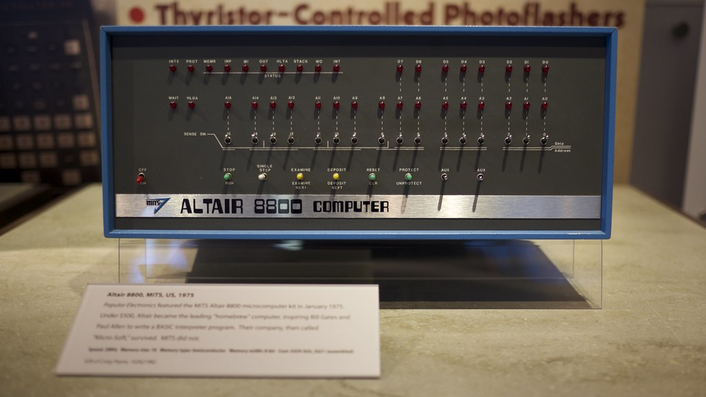 Altair 8800 Computer