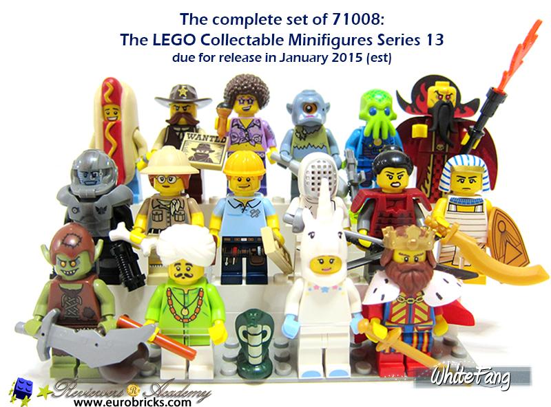 lego minifigures series 13 - photo #15