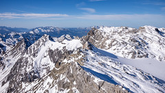 alps, mountain, winter, snow, mountain range, cirque, summit, ridge, arãªte, massif, mountainous landforms,