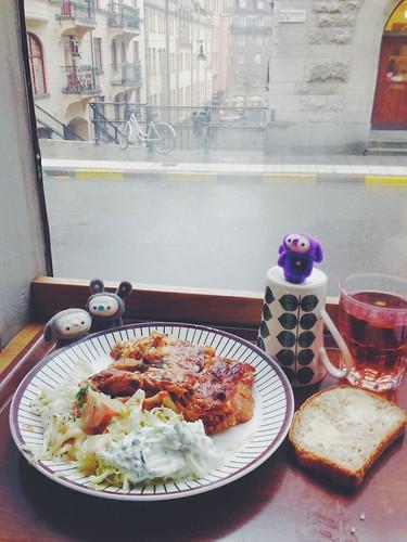 vegetarian lunch stockholm